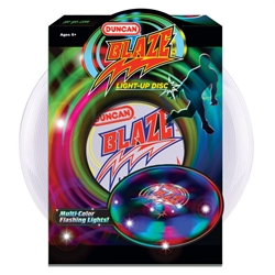 Blaze Light-Up Disc disk, disc, flying, flight, fly, sky, light, blink, flash, flashing