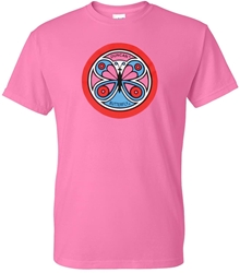 Retro Butterfly Shirt, Pink